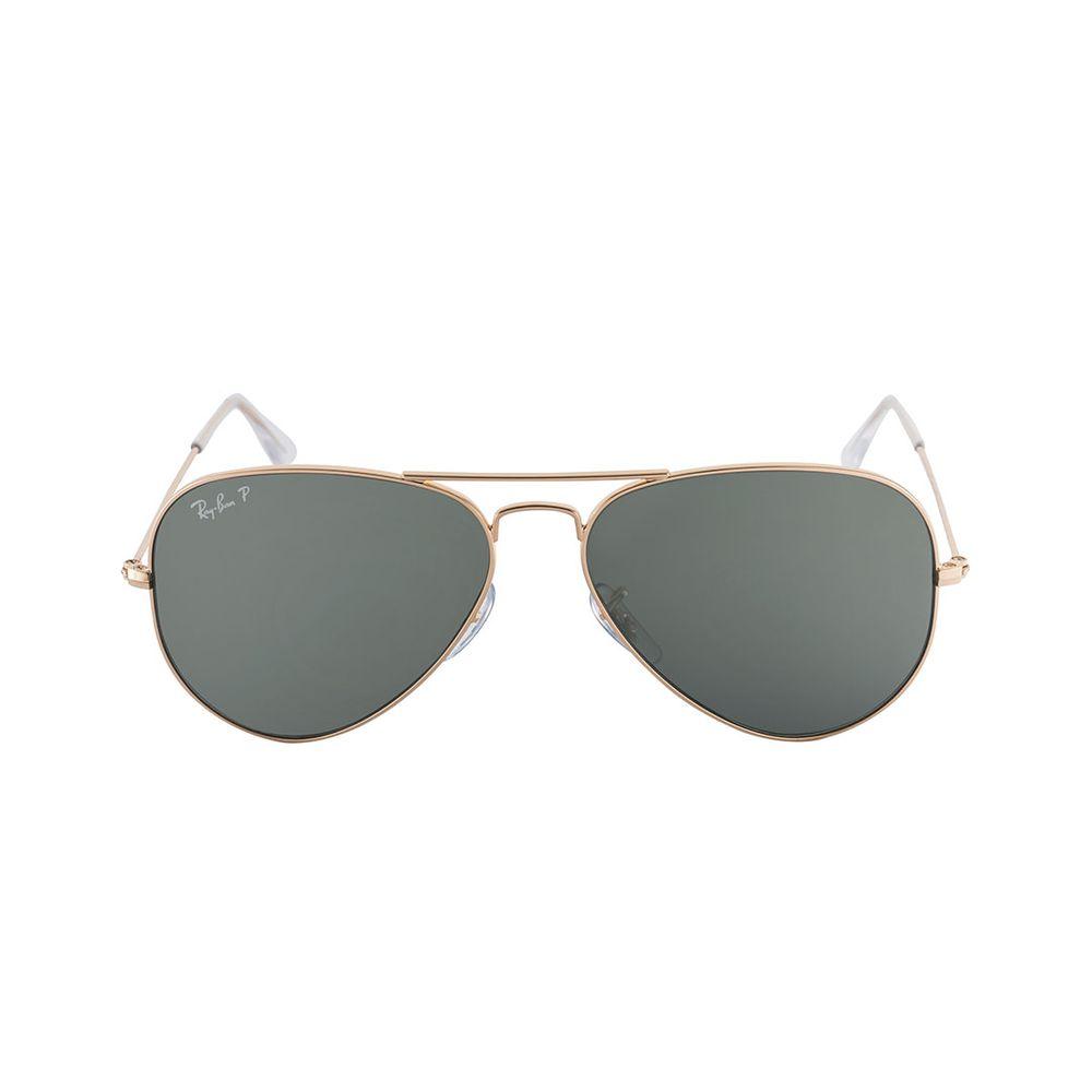 lentes de sol Ray-Ban Aviador Classic 3025 001/58 Polarizado 58