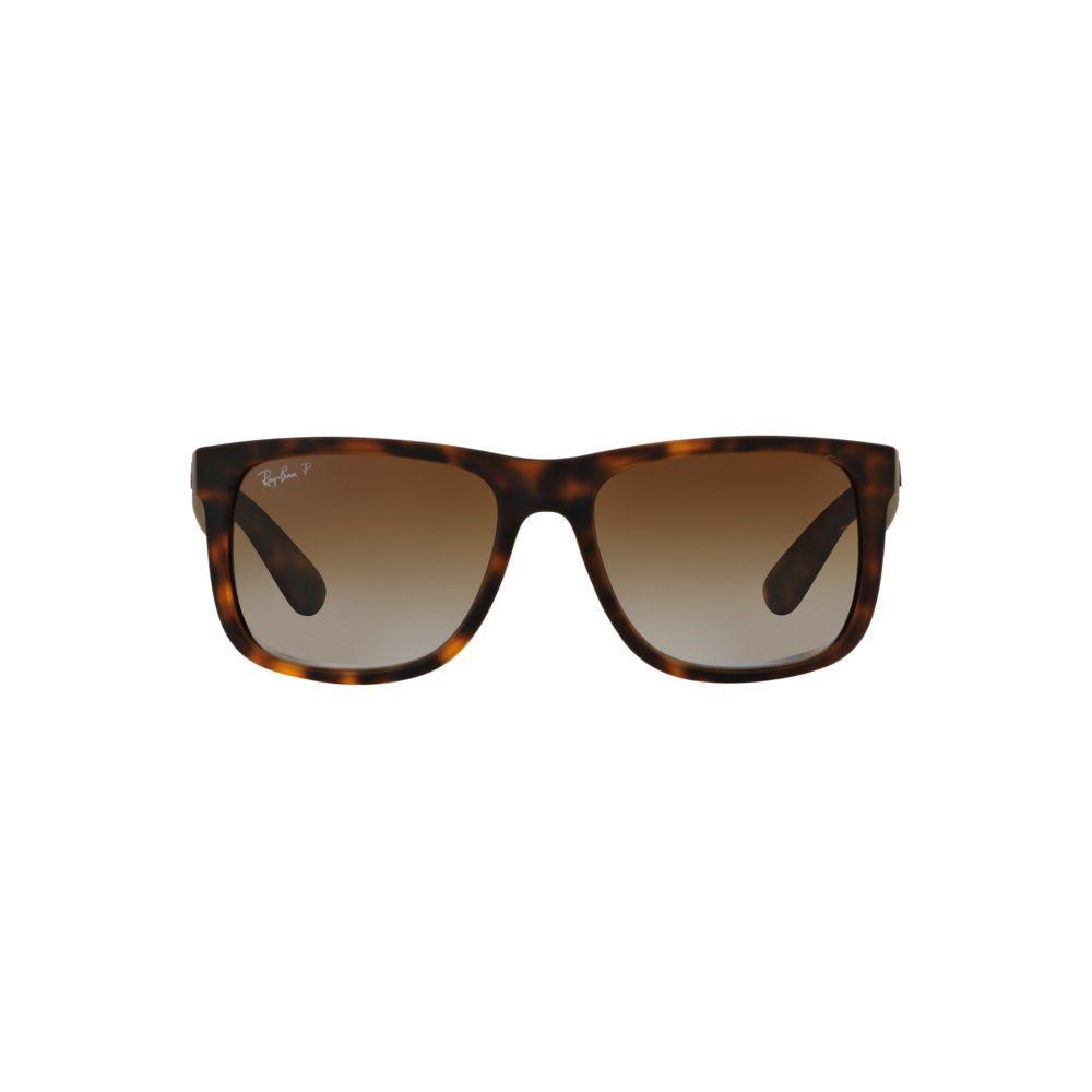 Anteojos de Sol Ray-Ban Justin 4165 865/T5 Polarizado 55 RX