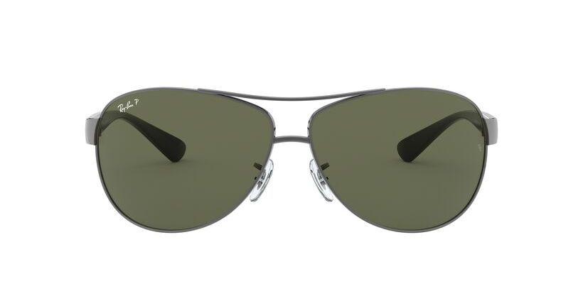lentes de sol Ray-Ban 3386 004/9A Polarizado 63