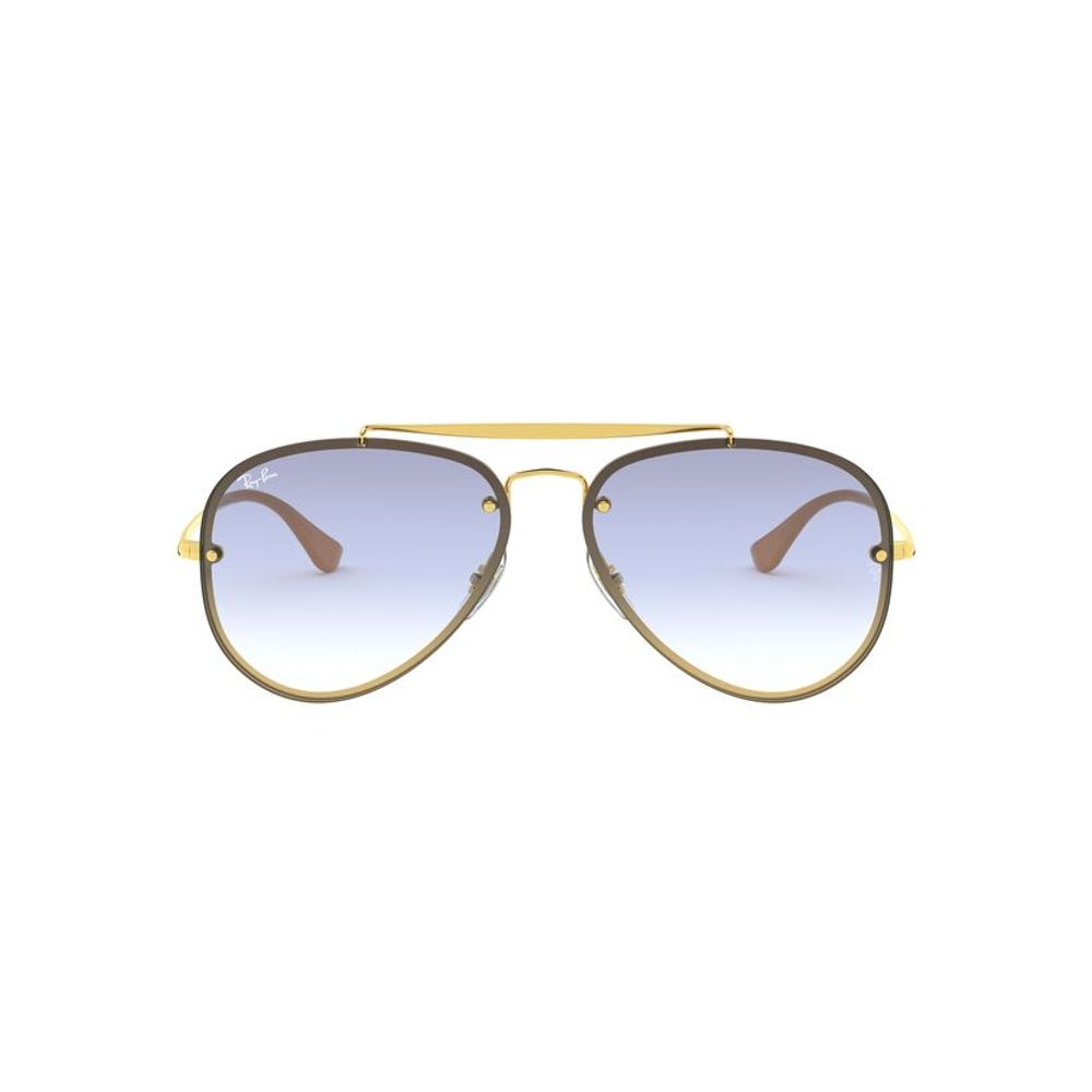 lentes de sol Ray-Ban Aviador Blaze 3584N 001/19 61