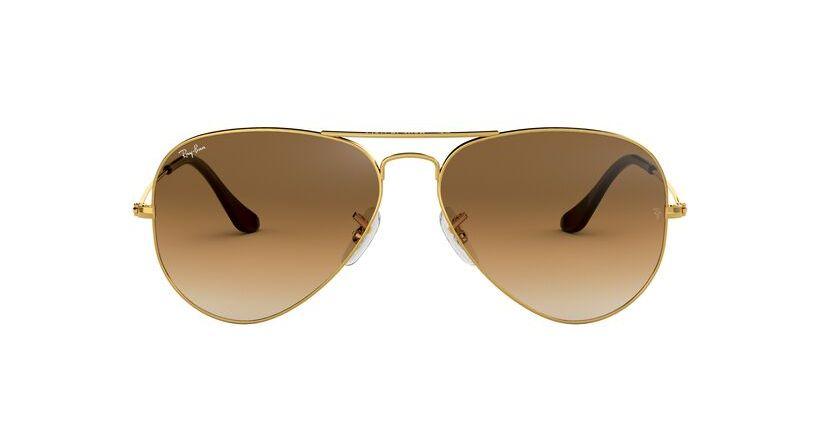 lentes de sol Ray-Ban Aviador Gradient 3025 001/51 62