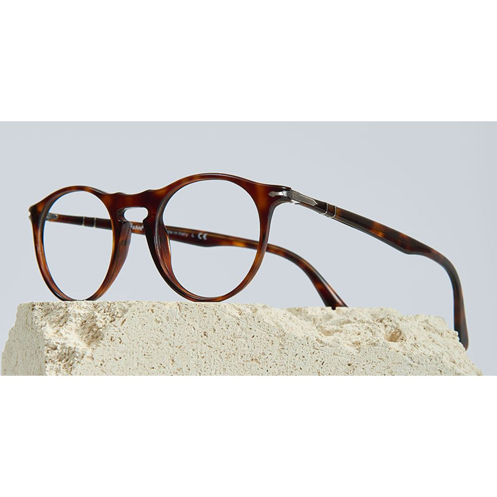 lentes opticos persol tortuga cafe havana redondo