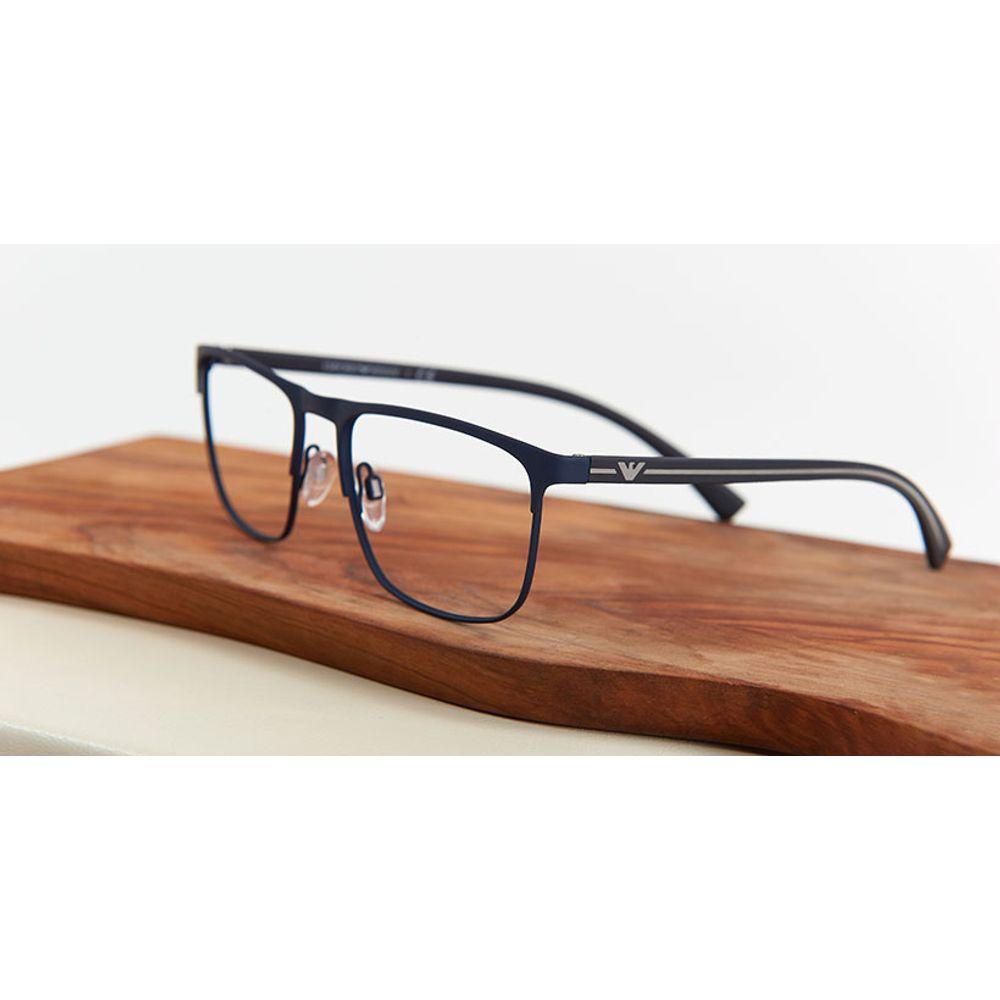 lentes opticos emporio armani hombre azul
