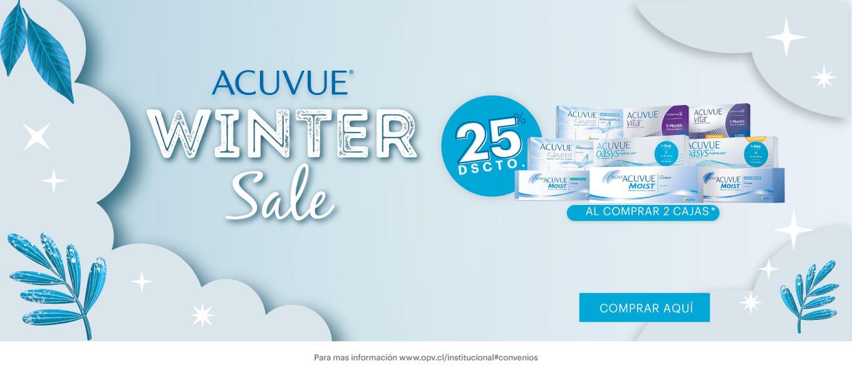 ACUVUE Winter Sale