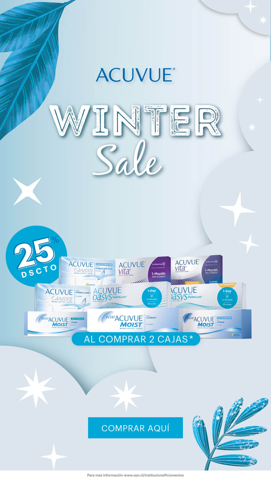 ACUVUE Winter Sale Mobile