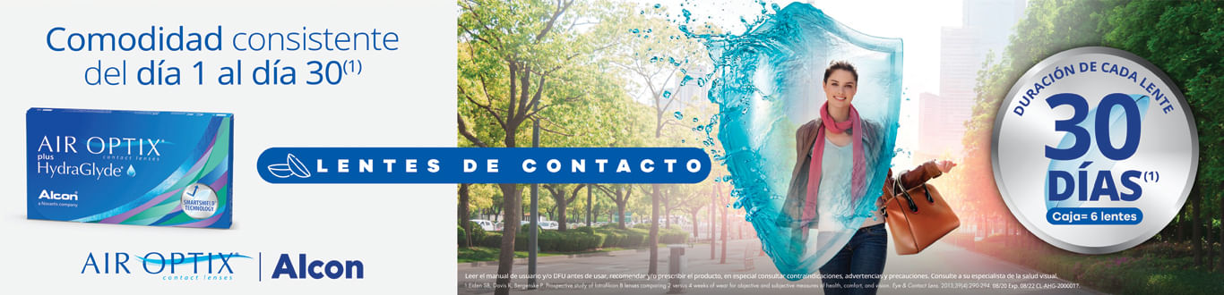 Lentes de contacto Air Optix